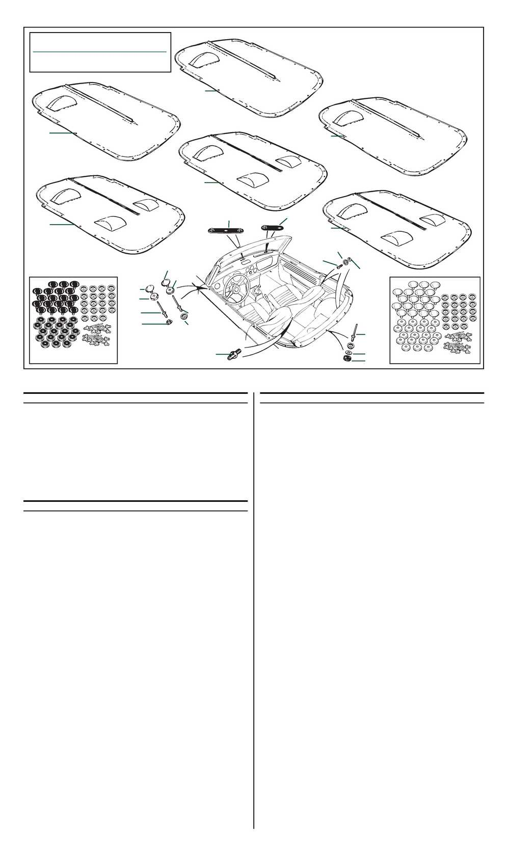 Roadster Factory: Tonneau Covers :TR6 Assembly Manual