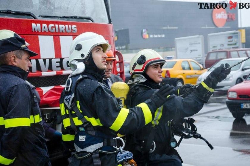 учение при пожар - Антоново, Търговище