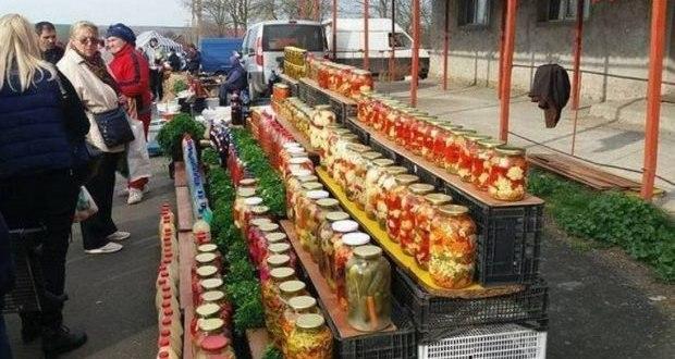 фермерски пазар в Румъния