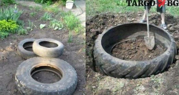 идеи със стари гуми