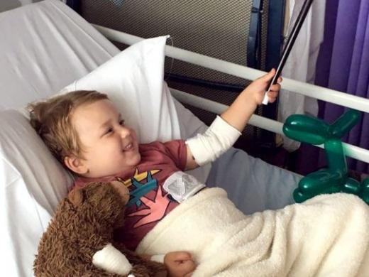 Дете страда от рядка болест