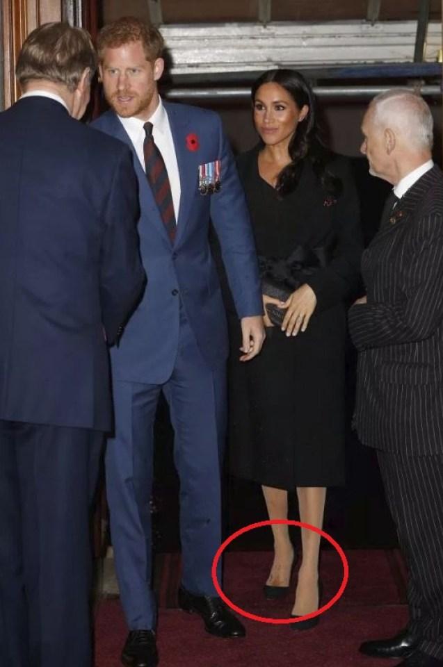 Меган Маркъл допусна страшен моден гаф, заради който направо я разпънаха на кръст! (СНИМКИ)