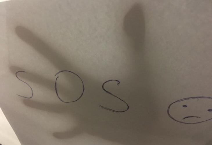 Студентка показва бележка SOS през прозореца на кола в Пловдив, но истината се оказа шокираща