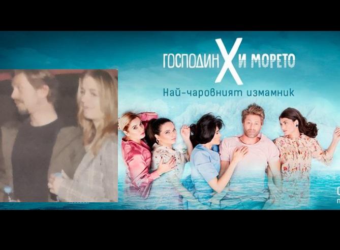 """Най-после Калин Врачански показа любимата си на премиерата на """"Господин Х и морето""""! (виж тук)"""