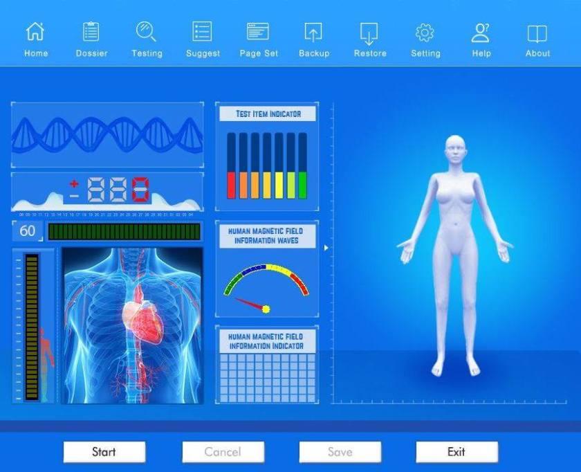 Квантова диагностика с биоскенер