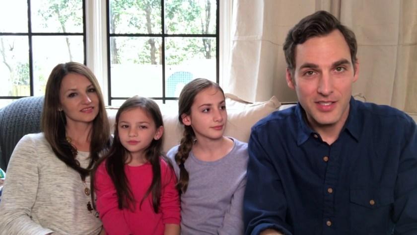 Крис Уърк и семейството му