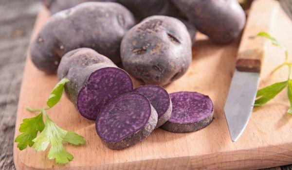 Лилав картоф срещу рак