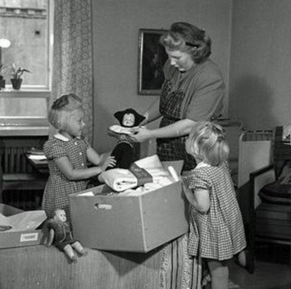 Кутия за бебета Финландия