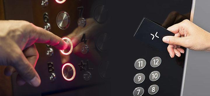 Какво представлява системата за контрол на достъп за асансьори?