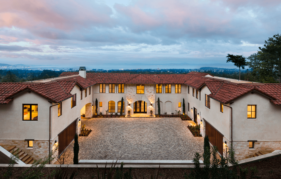 Contemporary Tuscan  TRG Architects