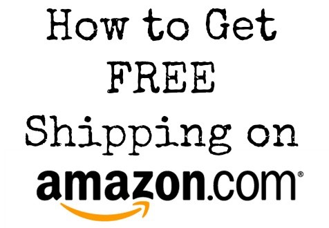 How to Get FREE Shipping from Amazon!