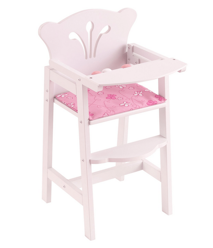 american girl high chair beach lounger kidkraft lil doll just 19 fits 18 dolls if you have an