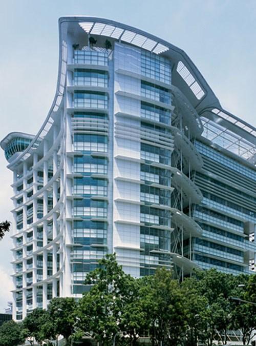 ecology architect setup for National Library Singapore