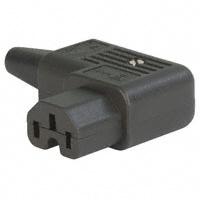 Cord Cap – Power Entry Plug (Angle) , IEC320-C15 R/A SCRW
