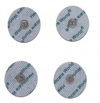 Electrode pads – AgC – Silver Conductor – PKG of 4 – 2″ Round ea.
