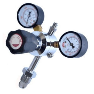 Gas Regulator – Western (Nitrous) K-Tank, Dual Stage, Pre-Set 50PSI