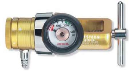 Gas Regulator – Western (Oxygen) E-Tank, 15LPM