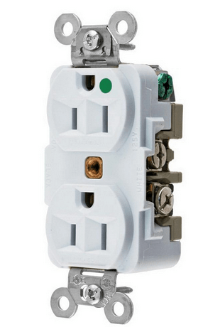 Electrical – Wall Outlet (Hospital Grade 125V 15A White)