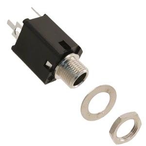 Connectors (Female) – 1/4″ CONN JACK PHONE ENCLOSE PC (Stereo)