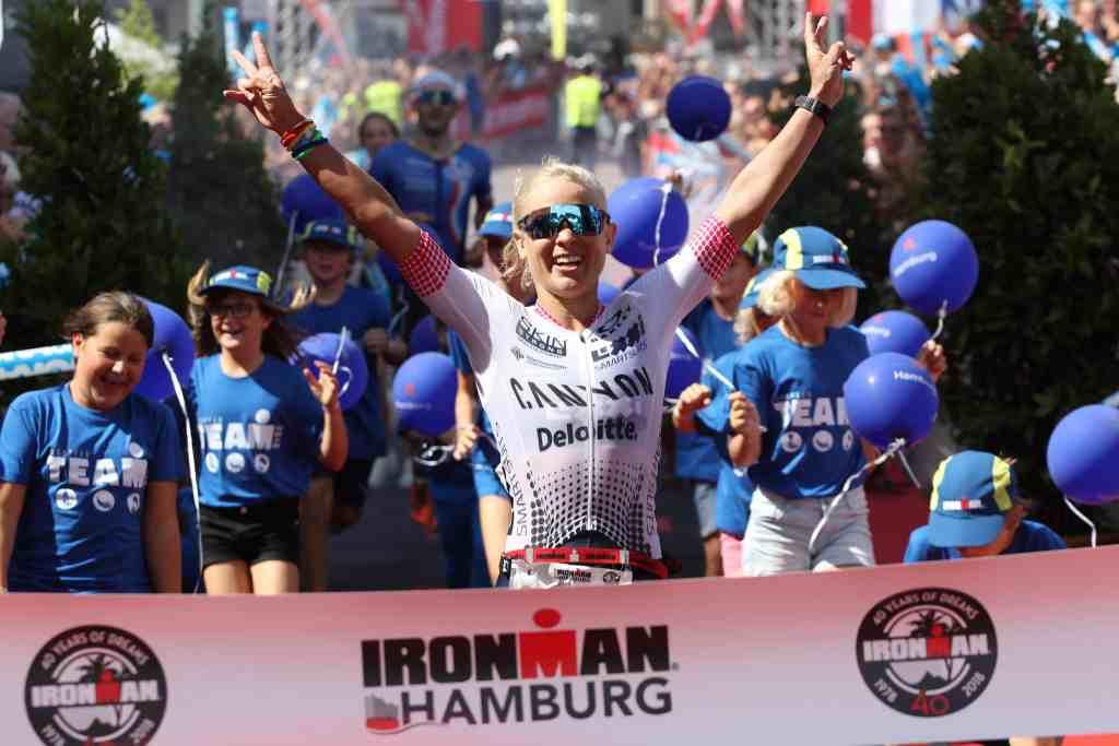 Die Ironman-Argentina-Siegerin