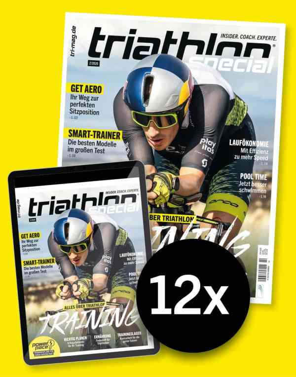 triathlon-Abo Print und digital