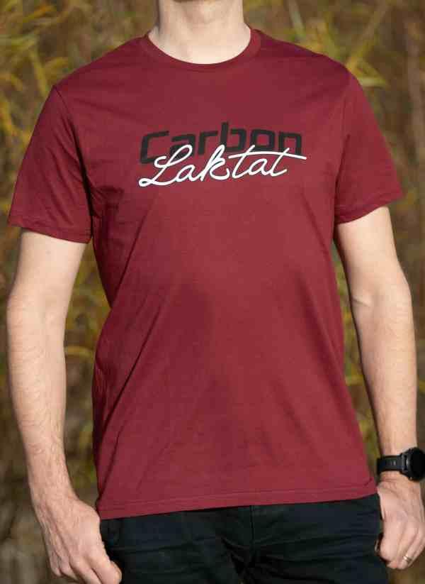 Carbon & Laktat T-Shirt burgund