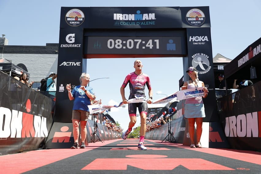 Sam Long gewinnt den Ironman Coeur d'Alene 2021