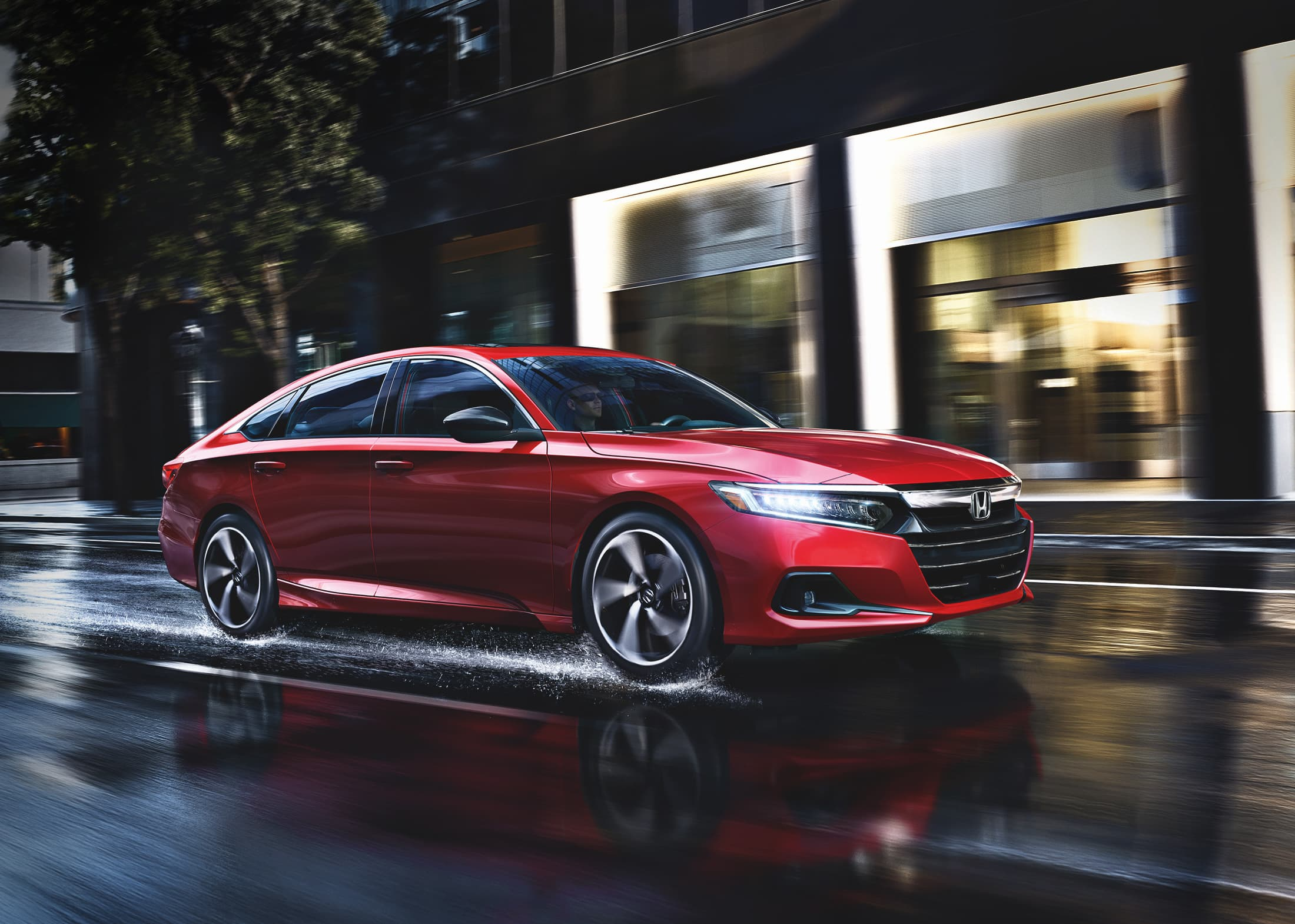 From wild and crazy accessories that stand out in a crowded car show. 2021 Honda Accord vs. 2020 Toyota Camry | Honda