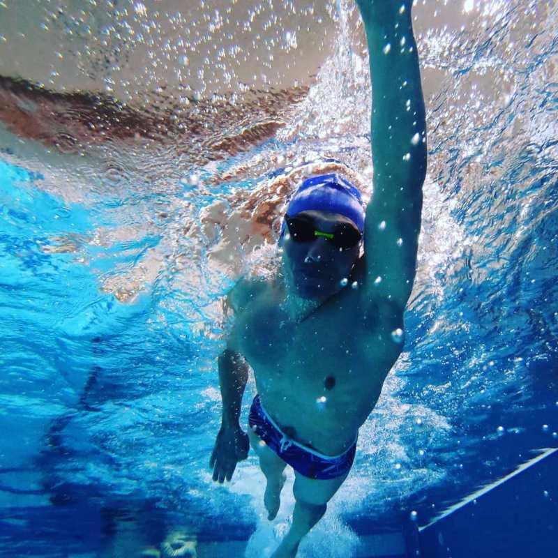 Jérémy natation