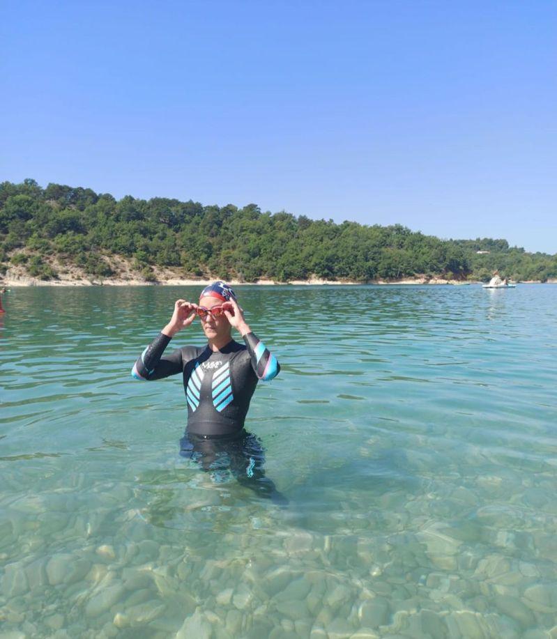 Héloïse natation