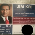 OOPS: Jim Kee's election mistake