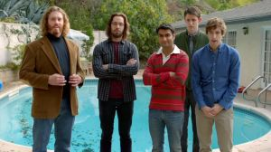 "The ensemble cast of ""Silicon Valley"" is a group of nerds about to become billionaires after creating revolutionary compression software, all living in a house together. The jokes write themselves."