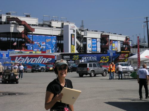Woodroof covering NASCAR
