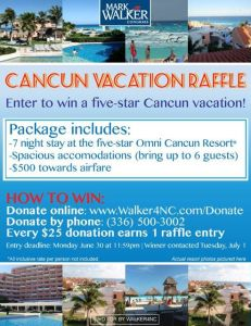 Cancun Raffle