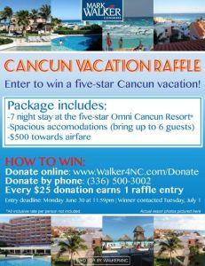 Cancun Raffle