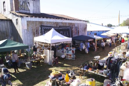 Hoots Flea ties into the Southern flea-market tradition, with a modern cultural twist.
