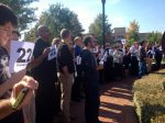 Silent vigil protests felony charges against 'UNCG 3'