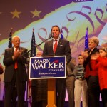 Surrounded by family, Republican Mark Walker pledged to get the federal government out of the way of the American Dream.