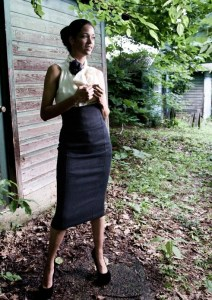 Pretty Birdie uses sustainable fabrics in its couture.