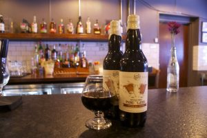 Small Batch's imperial mocha stout, a coffee beer