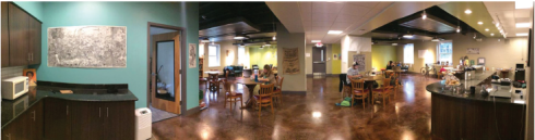 The Greenleaf in its new space last semester (Courtesy photo)