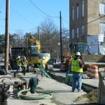Overhaul of Washington Street underway