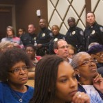 New chief booed at forum, residents skeptical of change