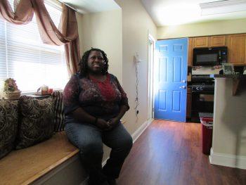 Debra Stevenson at home at Stoney Glen.