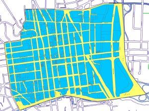 Downtown Winston-Salem map