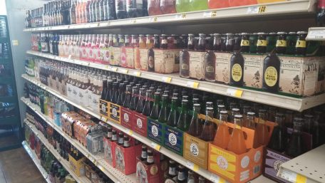 Less notorious than the Wall of Beer is the Aisle of Soda.