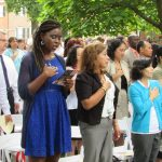 New Americans take citizenship oath at Old Salem