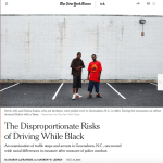 New York Times: The Disproportionate Risks of Driving While Black (in Greensboro)