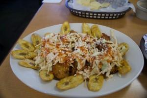 The pollo con tajada