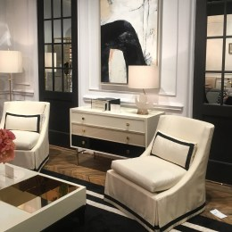 6- Black and white furnishings at Kate Spade for EJ Victor